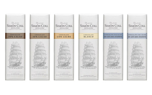 Simón Coll's Small Chocolate Bars