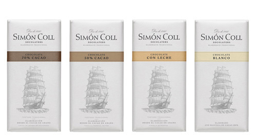 Simón Coll Chocolate Bars