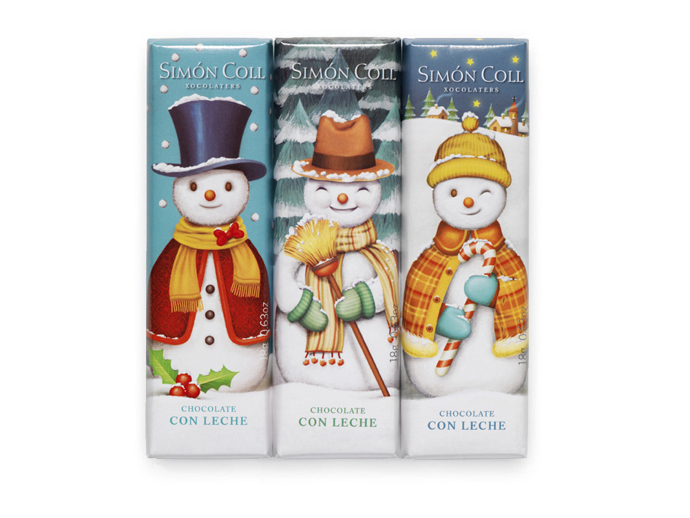 Winter chocolates