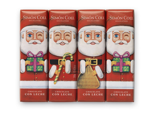 The Three Wise Men and Santa Claus chocolates