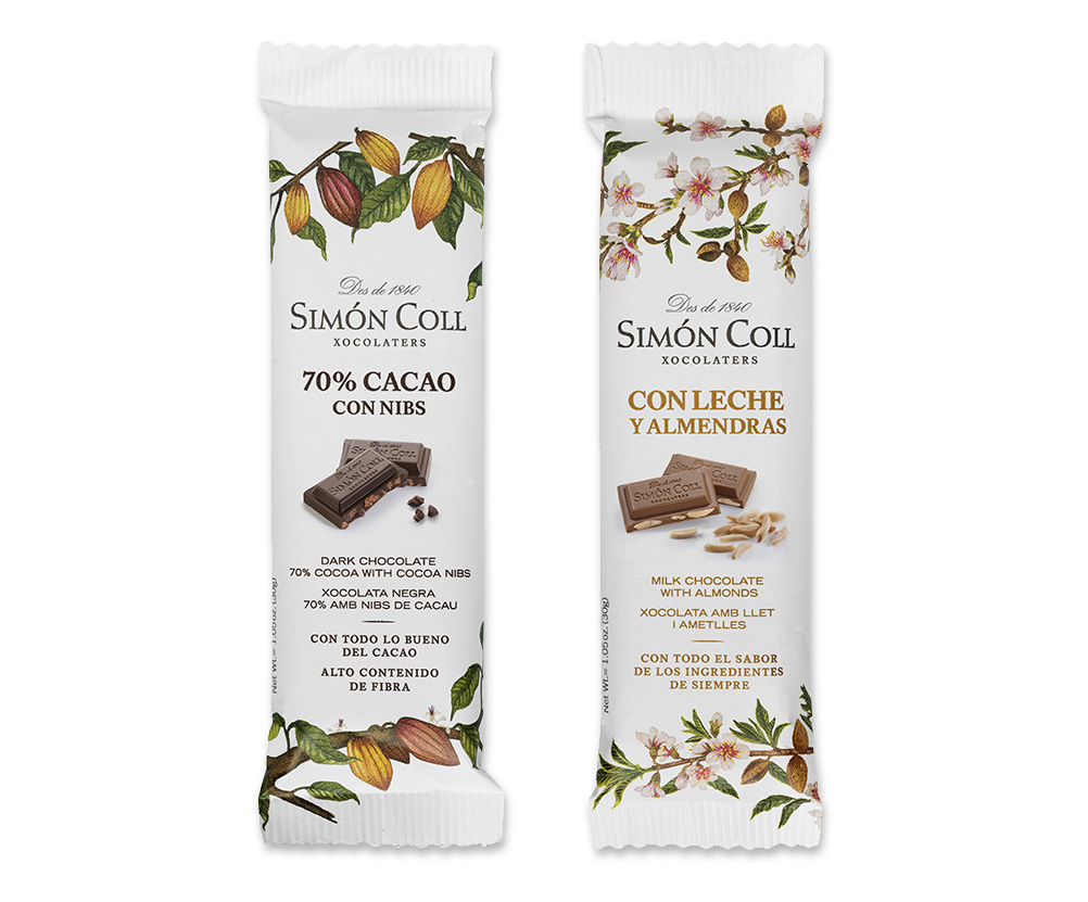 Small chocolate bars for adults